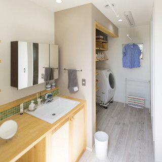 ワクワクキャーな家づくり (4) 家事ストレスの救世主! 「洗面洗濯室」とは | ライフスタイル | マイナビニュース