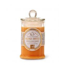 Bougie parfumée bonbonnière 30h orange confite