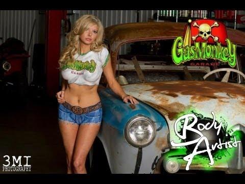 Body Artist - Gas Monkey Garage Body Paint on Missy Cool Fast N' Loud