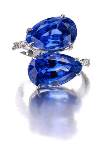 jewels best david diamond featuring precious stone blue shaped ring bcurrierrealtor dark oval and an sapphire webb carats weighing jewelry