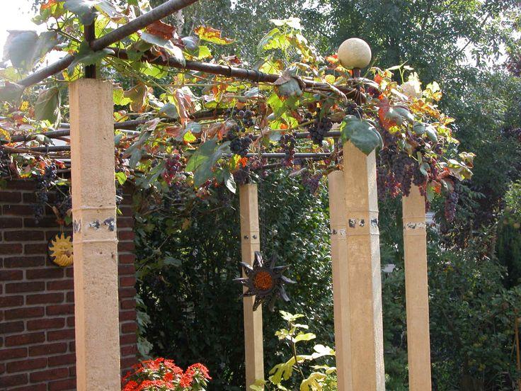 Meer dan 1000 idee n over kleine pergola op pinterest pergola 39 s sintelstenen en bakstenen patio 39 s - Bedekking voor pergola ...
