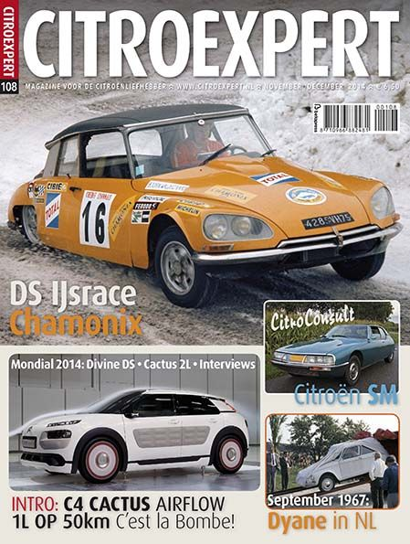 CitroExpert 108, nov/dec 2014 http://www.citroexpert.nl/magazines/lezen/citroexpert-108-nov-dec-2015