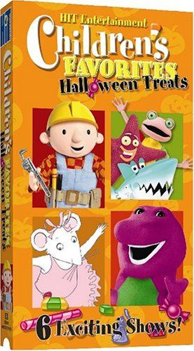 Children's Favorites: Halloween Treats [VHS] Lyons / Hit ...