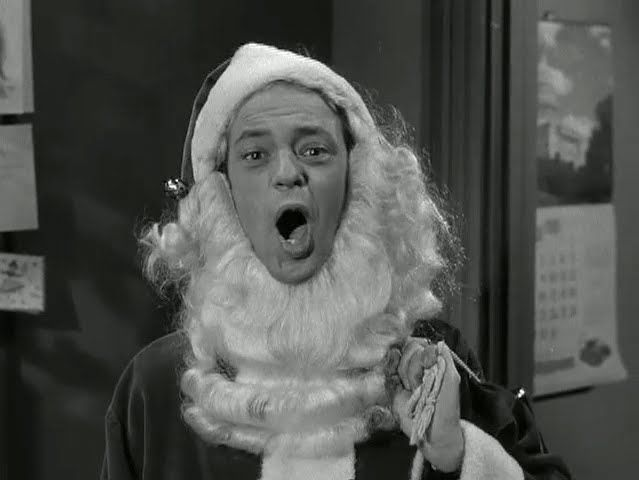 Barney, of course.           Google Image Result for http://3.bp.blogspot.com/-h8i4gsIkqsI/T_hr__WPrcI/AAAAAAAAA7Q/WefSaxFzeyc/s1600/andy-griffith-show-christmas-story-17.jpg