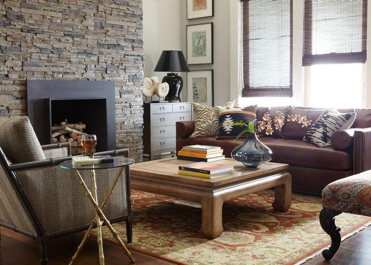 From Ethanallen.com · Abington Leather Sofa