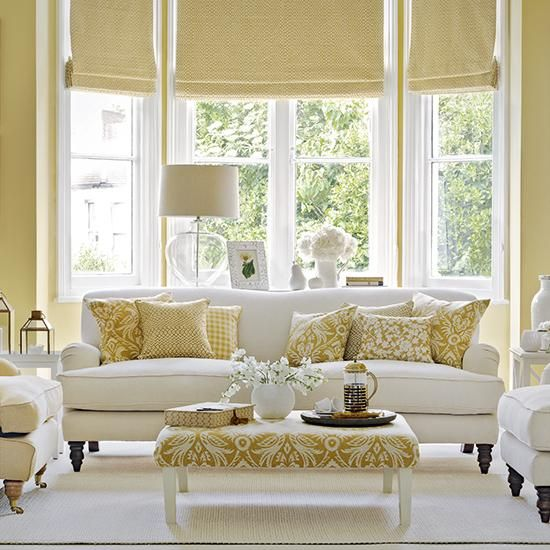 Ideal Home On Confidence Living Room Yellow And Decorating