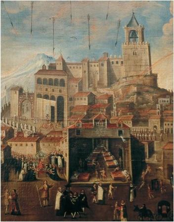 La peste de 1649 en Antequera, Málaga.