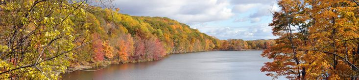 Harriman State Park is close by with lots of opportunities for outdoor recreation no matter the season.
