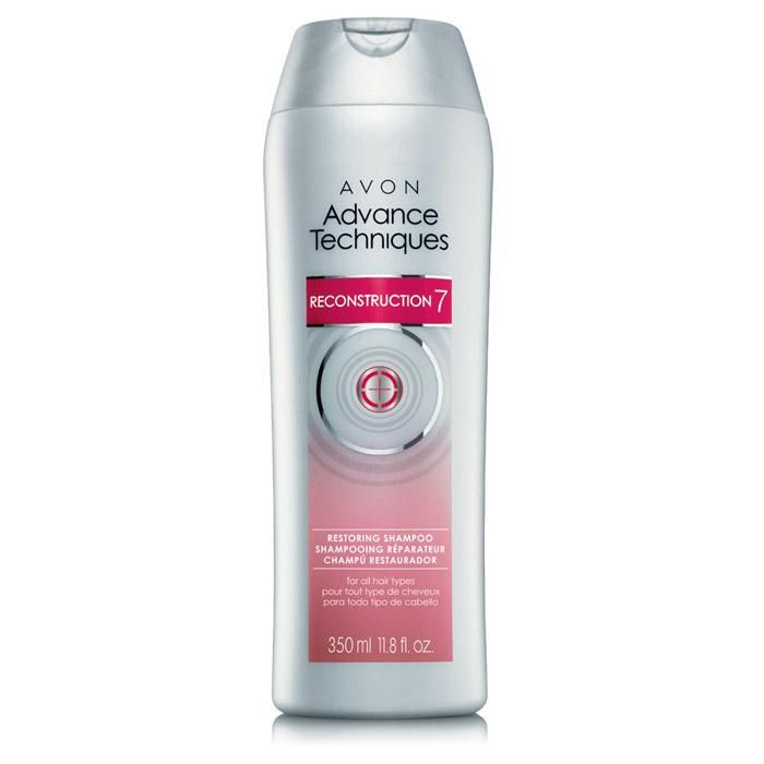 Introducing ADVANCE TECHNIQUES Reconstruction 7! Start bringing hair back to health after years of damage. Gently cleanses as it delivers intense and long-lasting smoothness*. 11.8 fl. oz.7 BENEFITS,* 1 SOLUTION1. ANTI-BREAKAGE2. ANTI-FRIZZ3. ANTI-DRYNESS4. ANTI-DULLNESS5. ANTI-SPLIT ENDS6. ANTI-ROUGHNESS7. HEAT PROTECTION*When used as part of a 4-step regimen with Reconstruction 7 Shampoo, Conditioner, Damage Rehab Treatment and Intense Recovery Mask. REG $6 SALE $2.89!