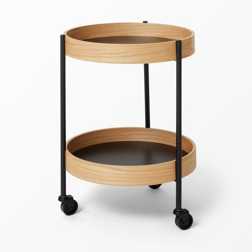 Runt bord med hjul  - Bord- Köp online på åhlens.se!