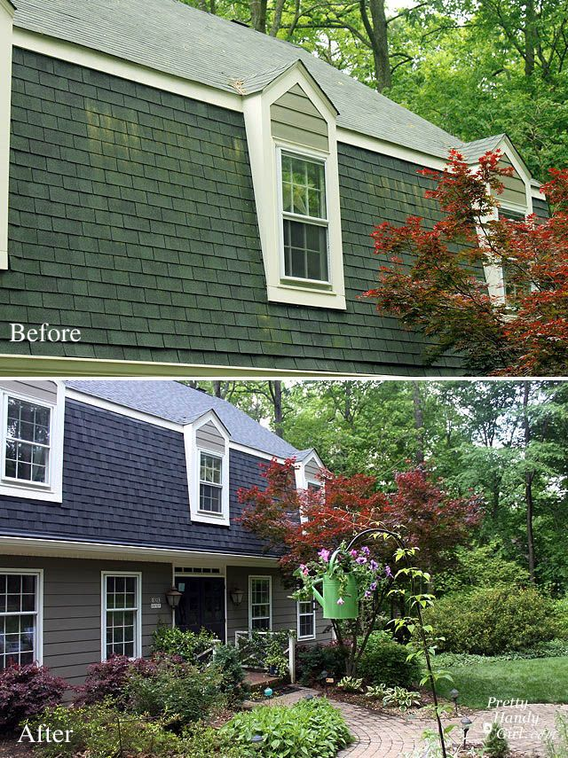 paint roof shingles | ... about Replacing Your Roof and Asphalt Shingles - Pretty Handy Girl