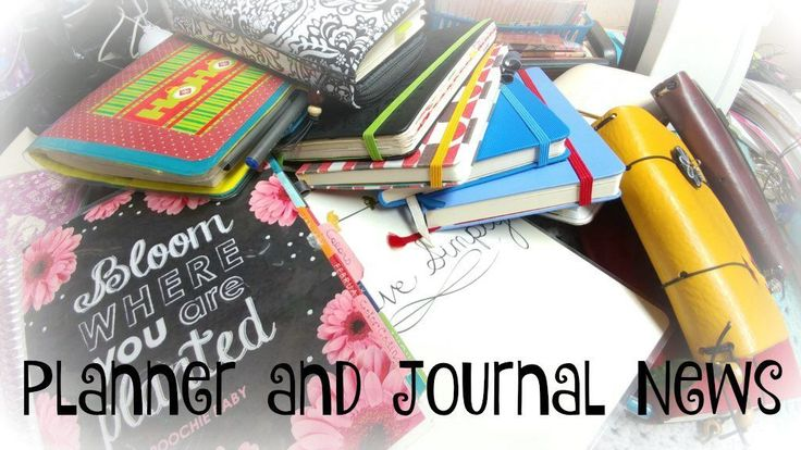 Planner and Journal News - Week 12 of 2017 http://www.poochie-baby.com/planner-journal-news-week-12-2017/