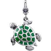 Turtle Dangle Charm