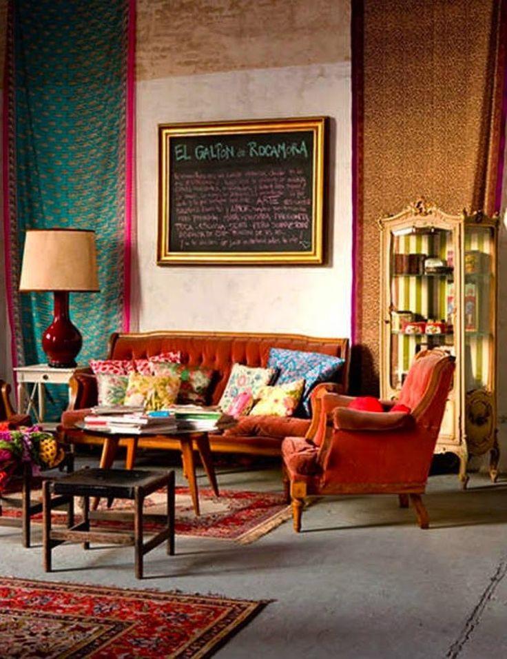 20 όμορφες ιδέες διακόσμησης του καθιστικού σε μποέμ στύλ! | Φτιάξτο μόνος σου - Κατασκευές DIY - Do it yourself