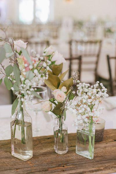 Bottles and roses: http://www.stylemepretty.com/canada-weddings/ontario/2015/02/03/romantic-ontario-summer-wedding/ | Photography: Oak & Myrrh - http://www.oakandmyrrh.com/