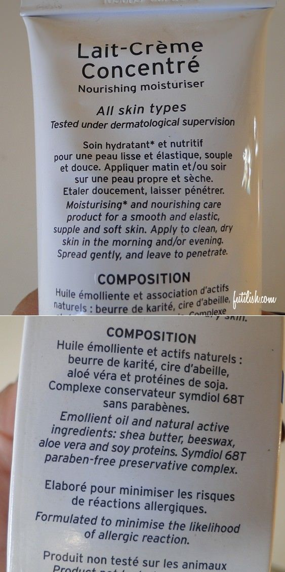 embryolisse natural ingredients: shea butter, beeswax, aloe vera  composição Embryolise DIY: manteiga de karité, cera de abelha e Aloe Vera (babosa)