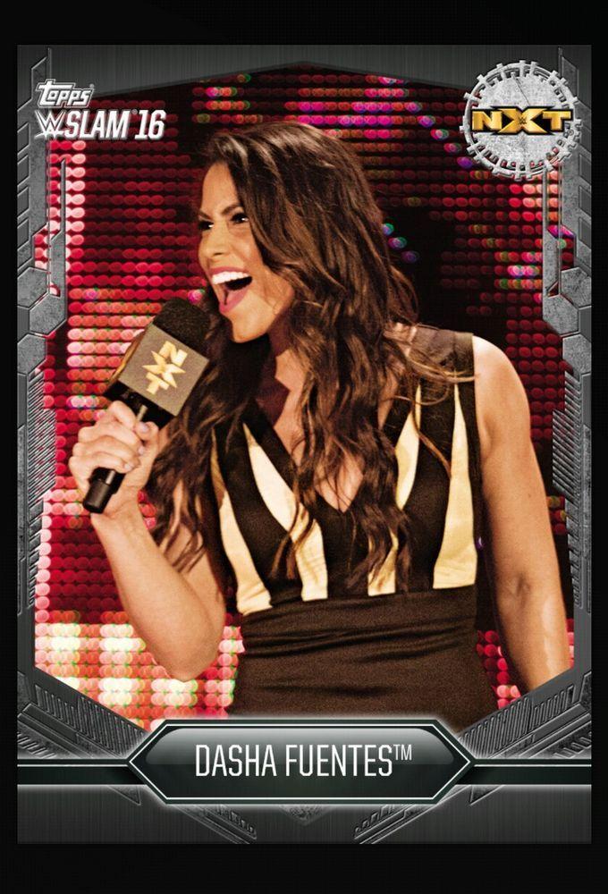 Dasha Fuentes Black Base Digital Card WWE Slam 2017 | Sports Mem, Cards & Fan Shop, Fan Apparel & Souvenirs, Wrestling | eBay!