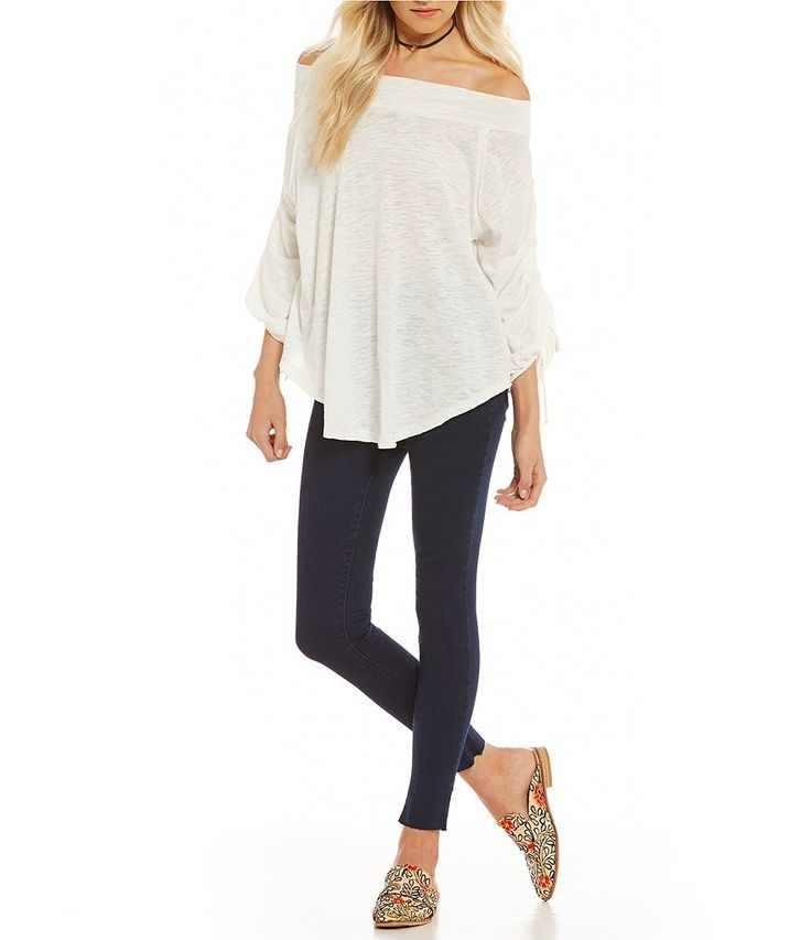 Shop for Free People Bohema Off-the-Shoulder Cinched Tee at Dillards.com. Visit Dillards.com to find clothing, accessories, shoes, cosmetics & more. The Style of Your Life.