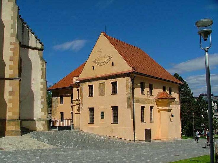 Slovakia, Bardejov - Humanistic Gymnasium