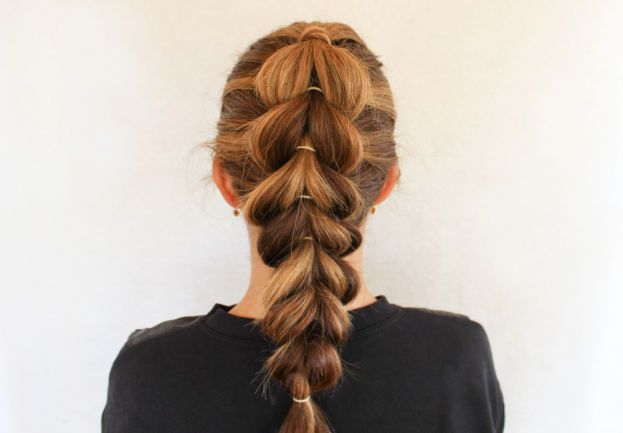 The Hottest Braid Right Now Isn't a Braid at All
