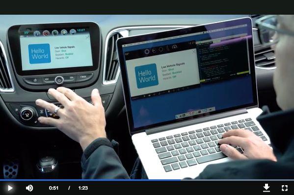 GMは、車載用インフォテインメントシステムで使用するソフトウェアを開発者が簡単に開発できるようにするために、多くのことを行ってきた。1月には、車両からの様々なデータへのアクセスを可能とし、デトロイトに置かれた特定の開発者用ハードウェアを使わずとも、デスクトップでシミュレータを使ってソフトウェアを開発することを可能に..