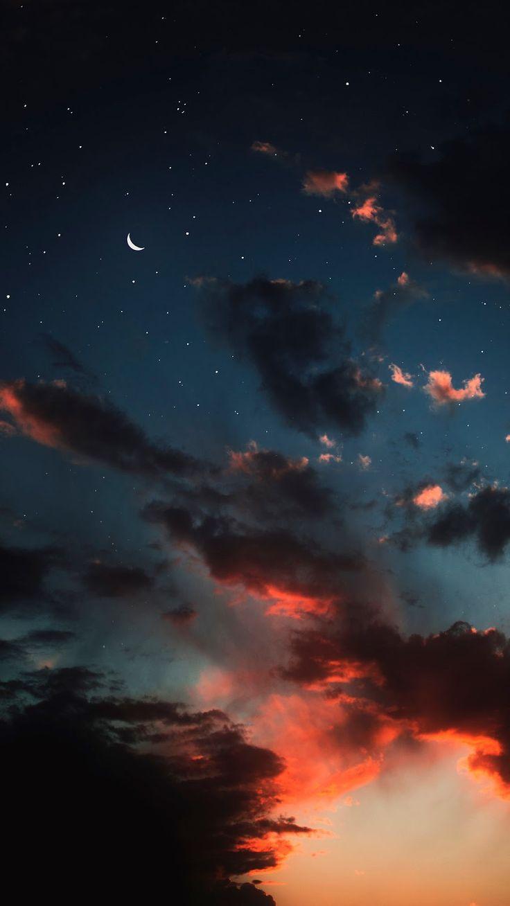 In the night sky – #night #Sky #wallpaper