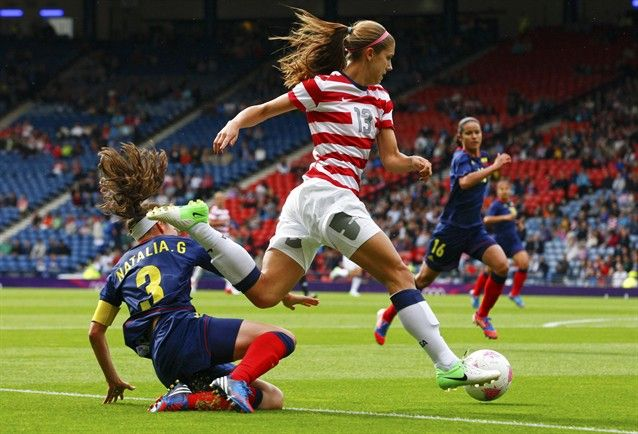 Alex Morgan, US Women's Soccer -You better believe I have those same cleats! :):)