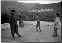 "Constantine Manos Greece.  Crete.  Elounta.  1964.  Playing in the square.""A Greek Portfolio""  p.10"