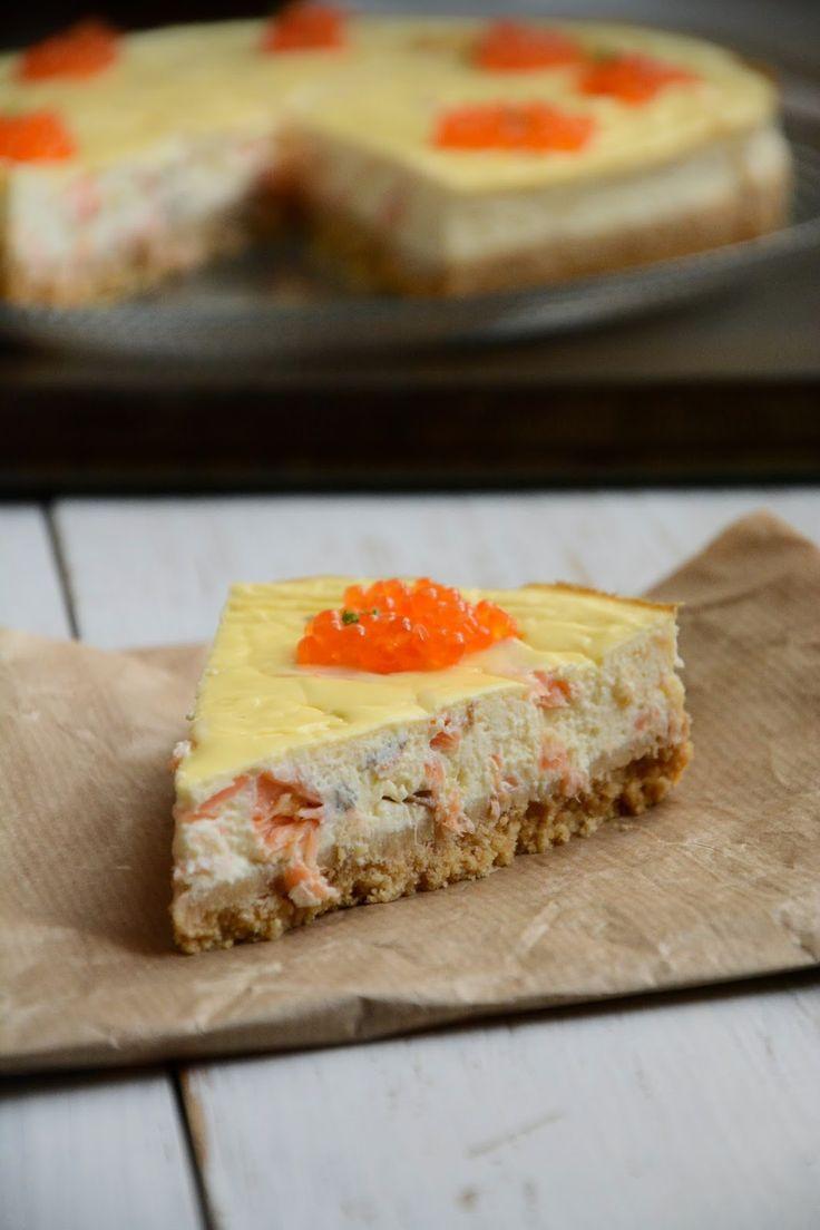 Chic, chic, chocolat...: Cheesecake ricotta et saumon fumé