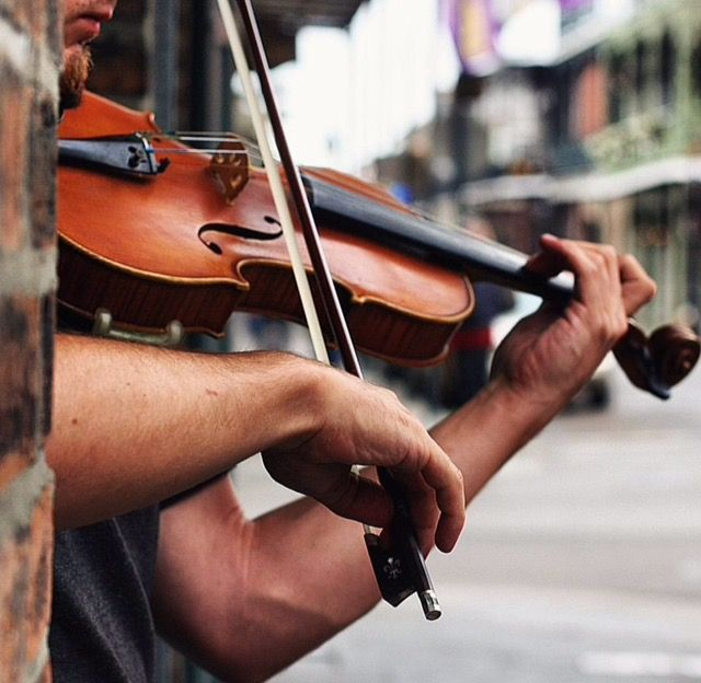 Have you had the pleasure of listening to our city's talented street musicians?