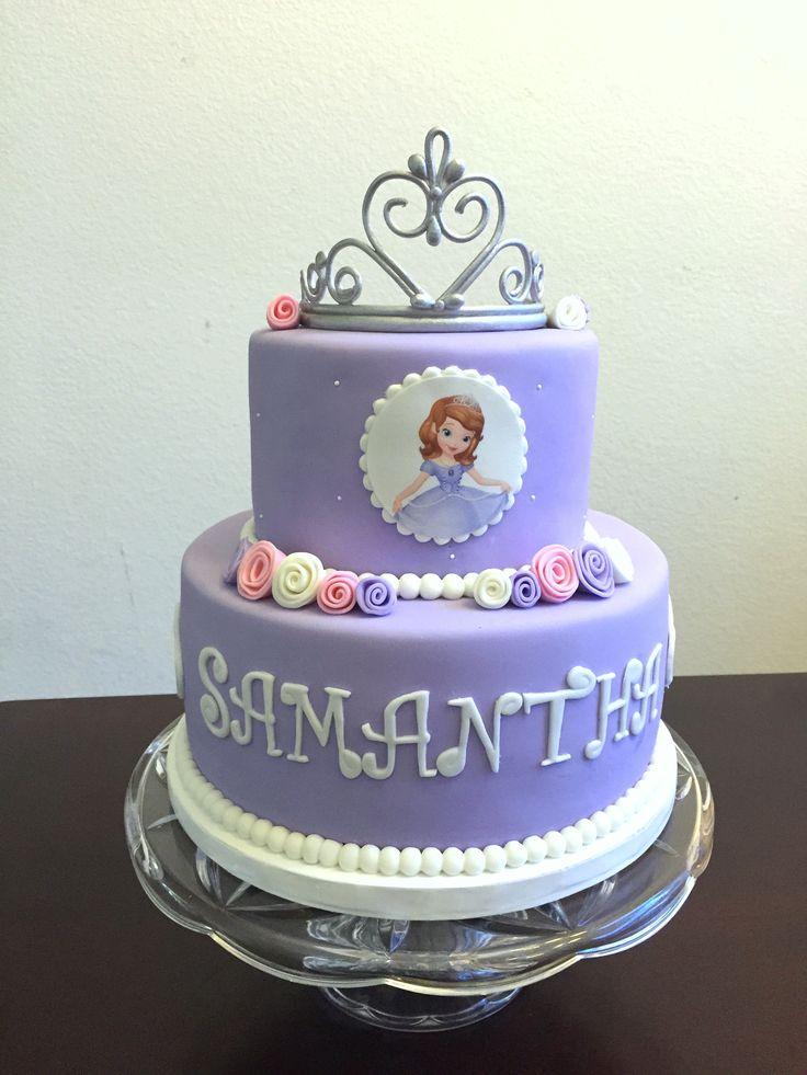 Princess Sofia Cake The First With Tiara Sensational And