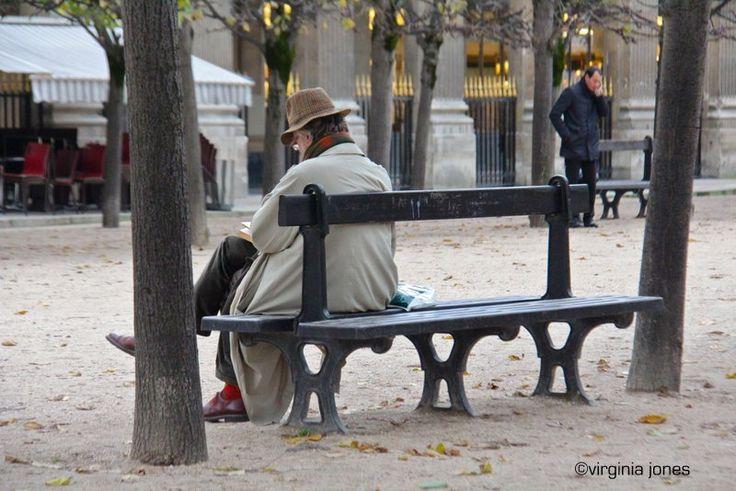Paris Through My Lens: Reading in Paris - Palais Royal