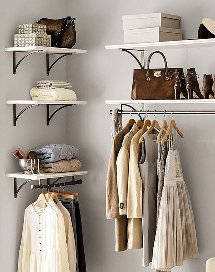 These 17 Photos Of Open Closets Will Make You Want To Tear Your