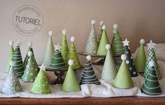 Calendrier de l'avent DIY : la forêt de cônes