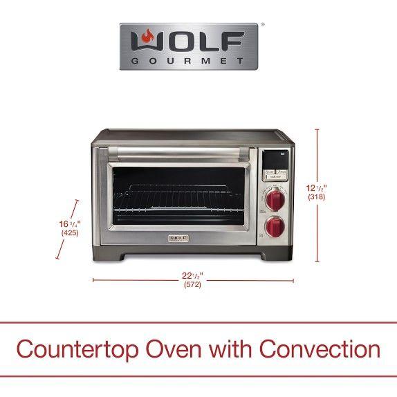 Wolf Gourmet Countertop Oven Elite Countertop Oven Wolf Gourmet