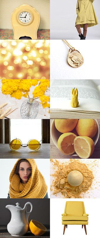 Life in yellow by Slastidolls on Etsy--Pinned+with+TreasuryPin.com