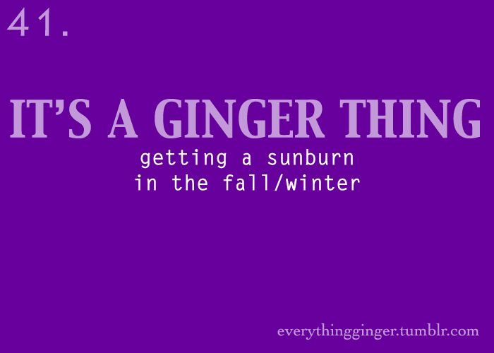 It's A Ginger Thing #41