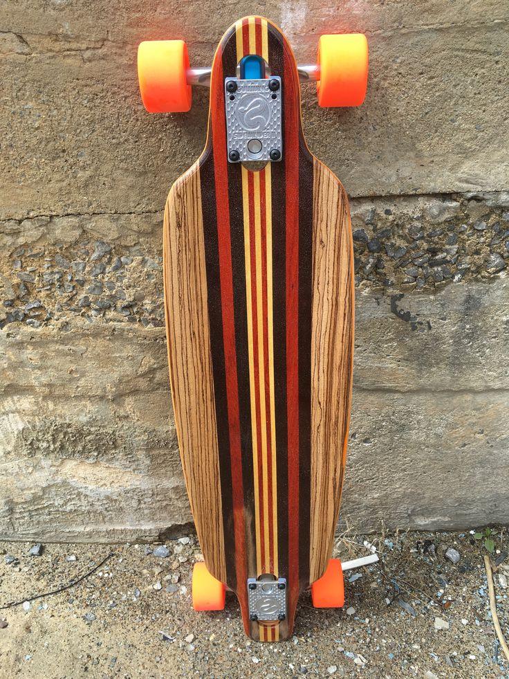 "NEW 2016 Custom Handmade 33"" Longboard Skateboard "" The Jack Rabbit 2"""