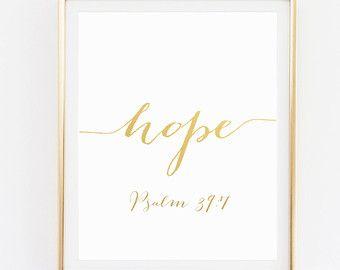 Salmo 91 / arte del verso escritura / escritura por WonderfulPrints