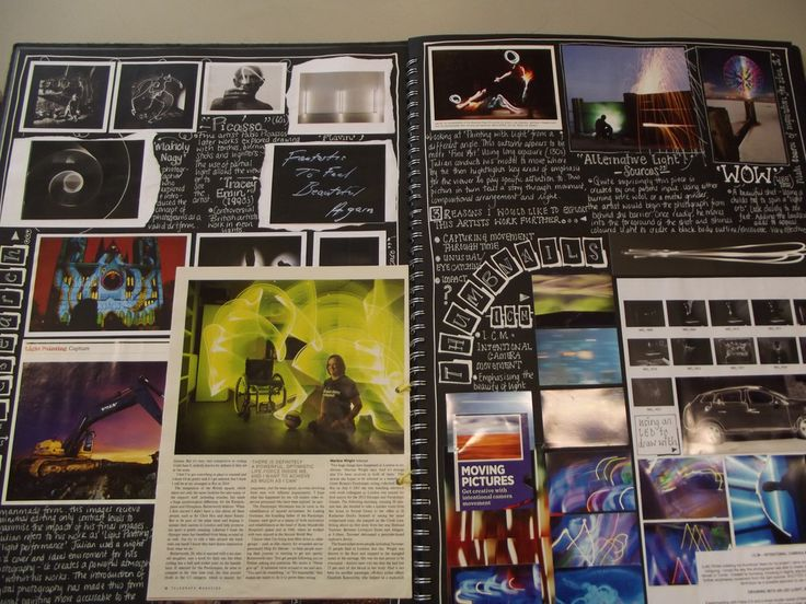 AS Photography EBE Sketchbook   by MDTC Art Department