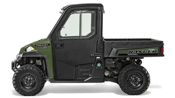 New 2017 Polaris Ranger® Diesel HST Deluxe ATVs For Sale in New Jersey.