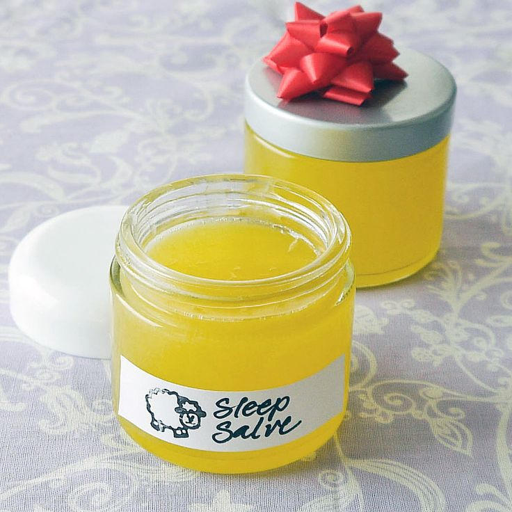 Sweet Dreams With This DIY Sleep Salve: Tired of lying awake all night stressing over this or that?