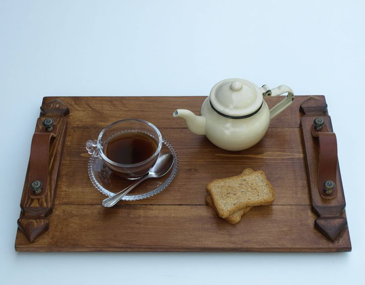 A special handmade wooden tray aesthetically inspired by elements of gothic culture.