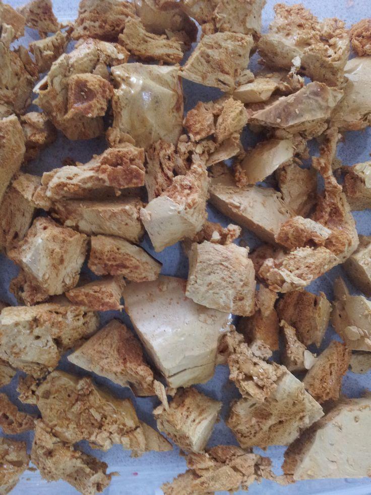 Homemade honeycomb