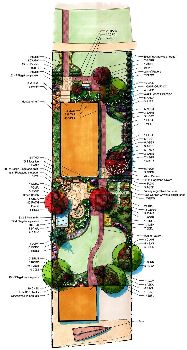 Residential Landscape Architecture Plan 84 best landscape design graphics images on pinterest