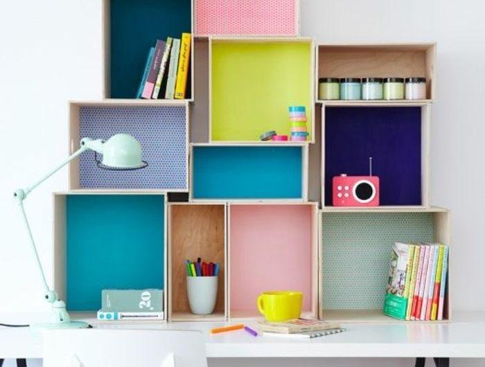 Coin bureau chambre ado fille idees pour les meubles idee for Meuble bureau coin