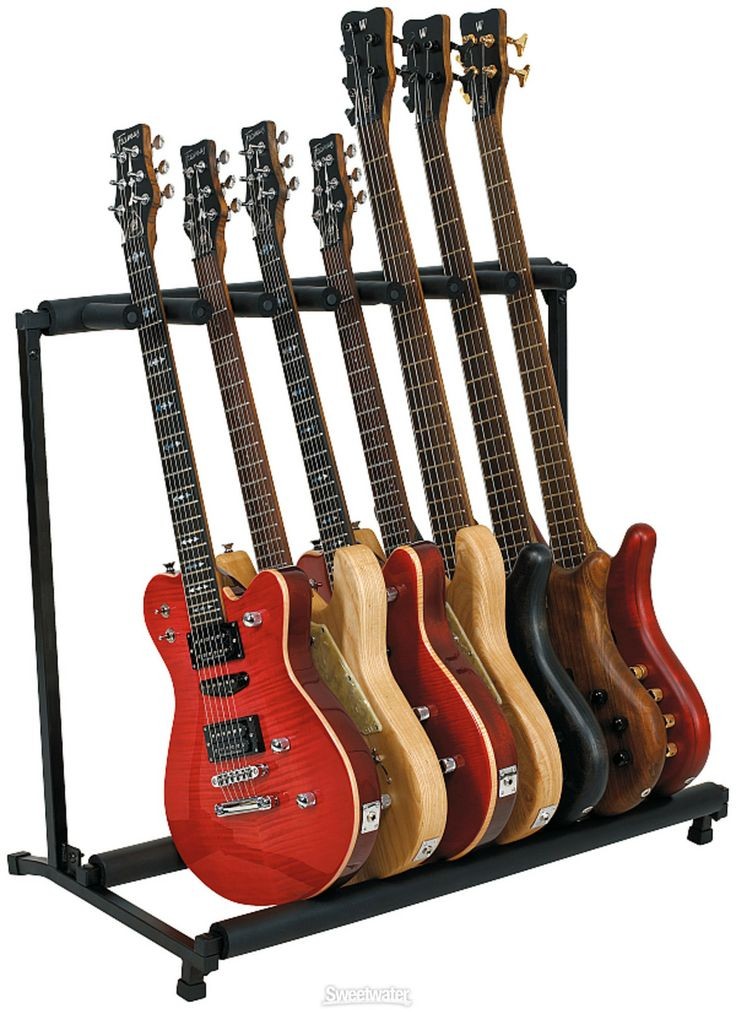 "RockStand Multiple ""Flat Pack"" 7-Instrument Stand - very nice ..."
