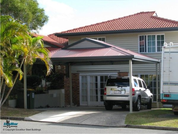 6m x 6m dutch gable carport it 39 s always good if you can for Different carport designs