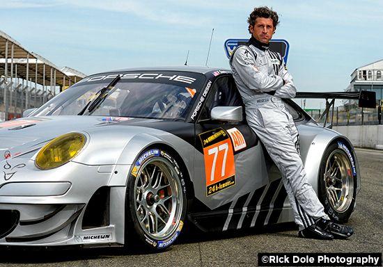 Actor Patrick Dempsey is a Le Mans series driver