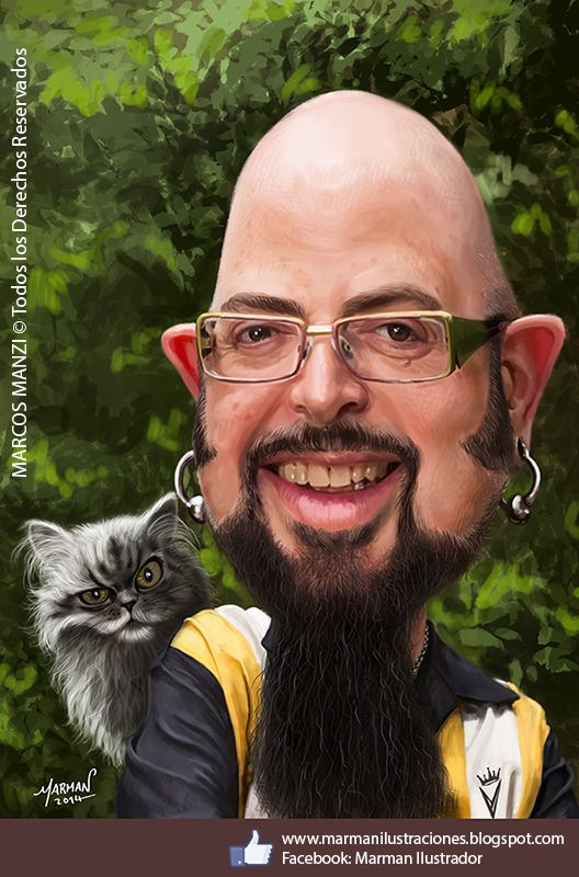 97 best images about caricaturas marman caricatures and for Jackson galaxy